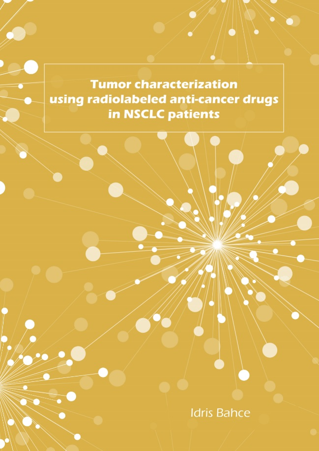 Bahce - Tumor characterization using radiolabeled anti-cancer drugs in NSCLS patients
