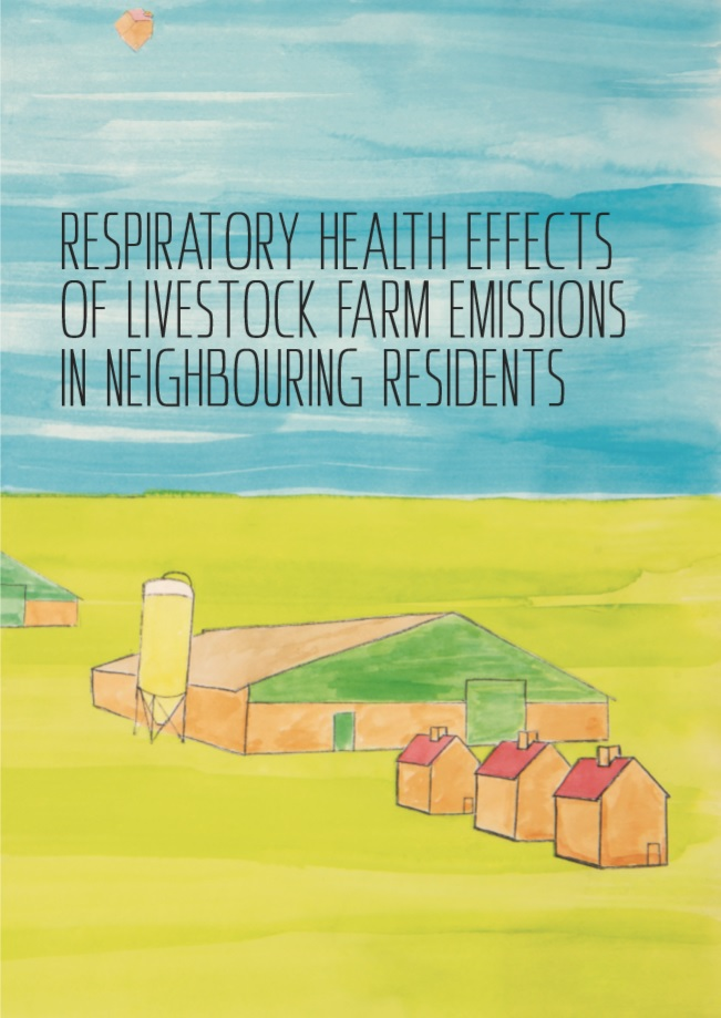 Borlée - Respiratory health effects of livestock farm emissions in neighbouring residents