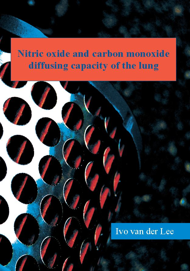 Lee van der - Nitric oxide and carbon monoxide diffusing capacity of the lung